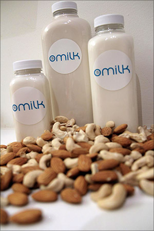 OMilk in small, medium, and large